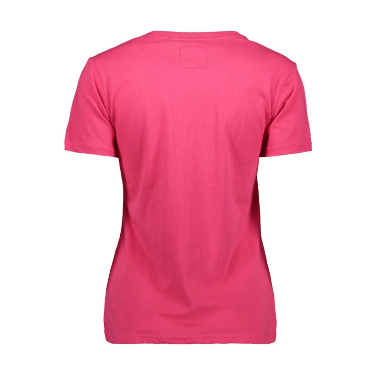 vl tonal entry tee w1010028a superdry t-shirt magenta