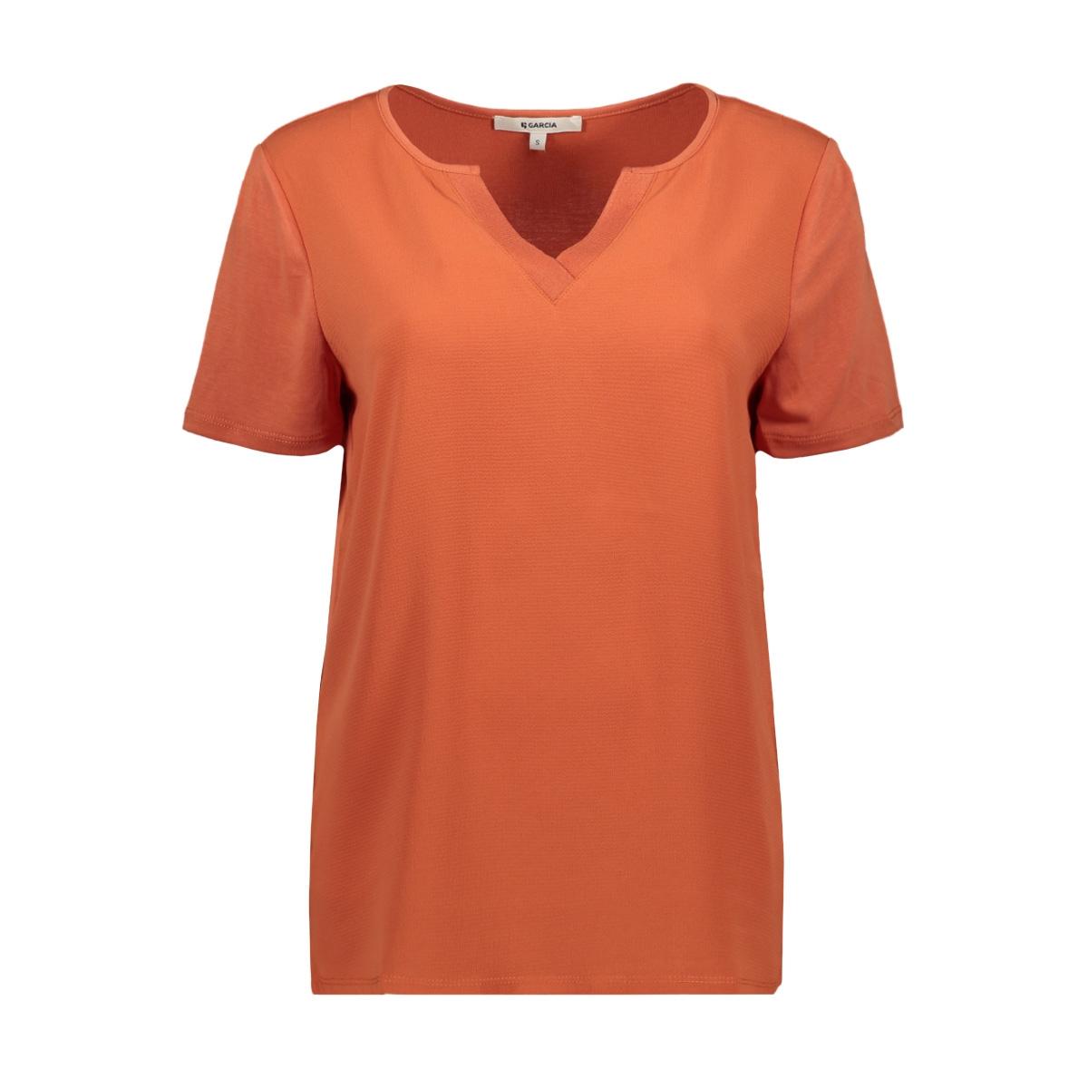 t shirt gs000102 garcia t-shirt 7612 burnt ochre