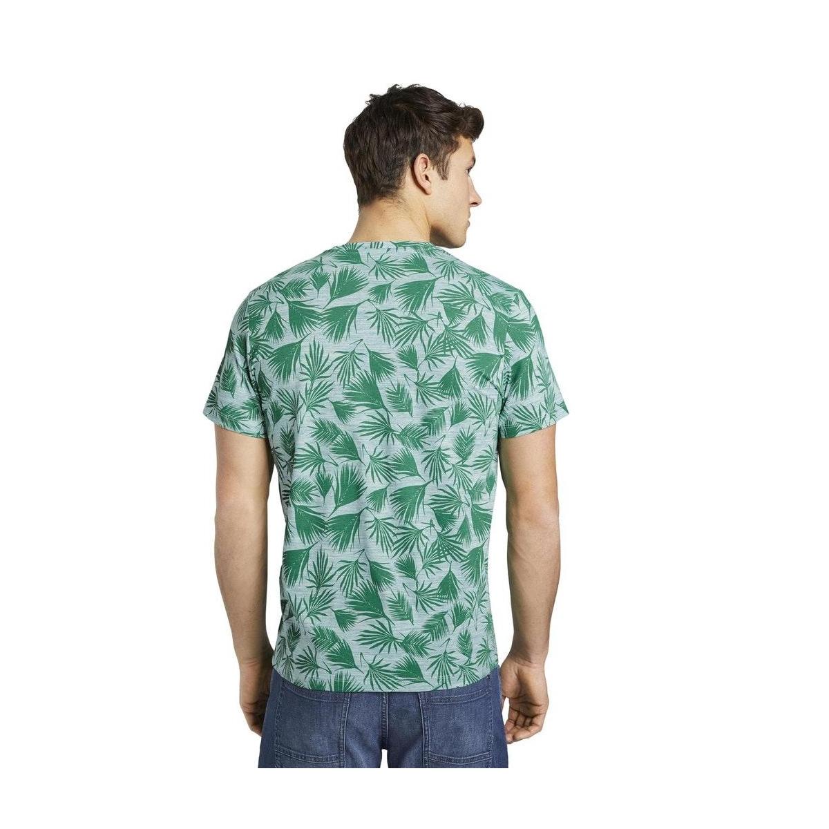 t shirt met all over print 1016148xx10 tom tailor t-shirt 22831