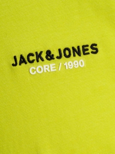 jcoscaling tee ss crew neck nl 12175100 jack & jones t-shirt sulphur spring/slim/turk