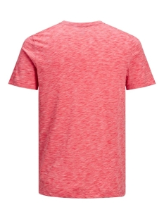jcoscaling tee ss crew neck nl 12175100 jack & jones t-shirt bittersweet/slim/tita