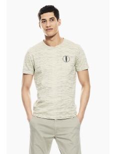 gestreept t shirt p01204 garcia t-shirt 2293 bone
