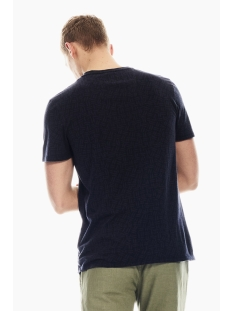 t shirt met all over print p01205 garcia t-shirt 1050 indigo