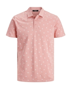 Jack & Jones Polo JPRTRISTAN BLA. POLO SS 12171513 Rose Tan/SLIM FIT