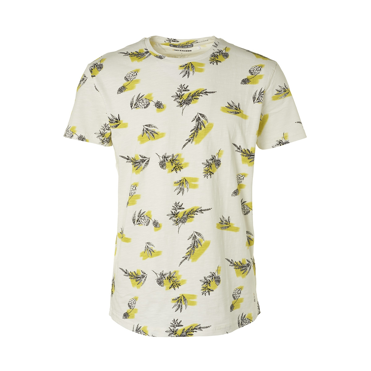 all over printed crewneck t shirt 95340204 no-excess t-shirt 056 lime