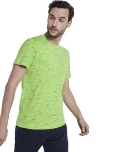 t shirt in melange look 1018292xx10 tom tailor t-shirt 22828