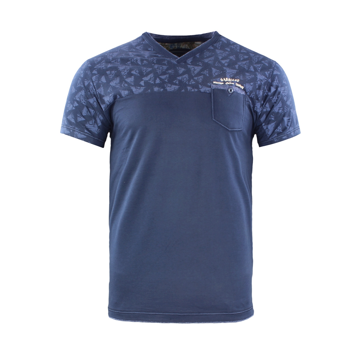 t shirt 15177 gabbiano t-shirt navy