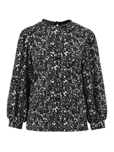 Garcia Blouse BLOUSE MET ALL OVER PRINT GE000303 60 Black