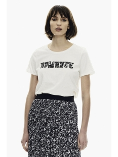 t shirt met tekstprint ge000301 garcia t-shirt 53 of white