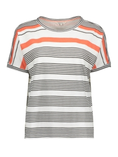 Sandwich T-shirt OVERSIZED T SHIRT MET STREPEN 21101833 10058