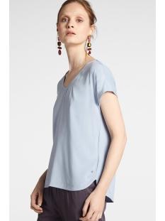 Sandwich T-shirt T SHIRT MET AANGEKNIPTE MOUW 21101847 41036