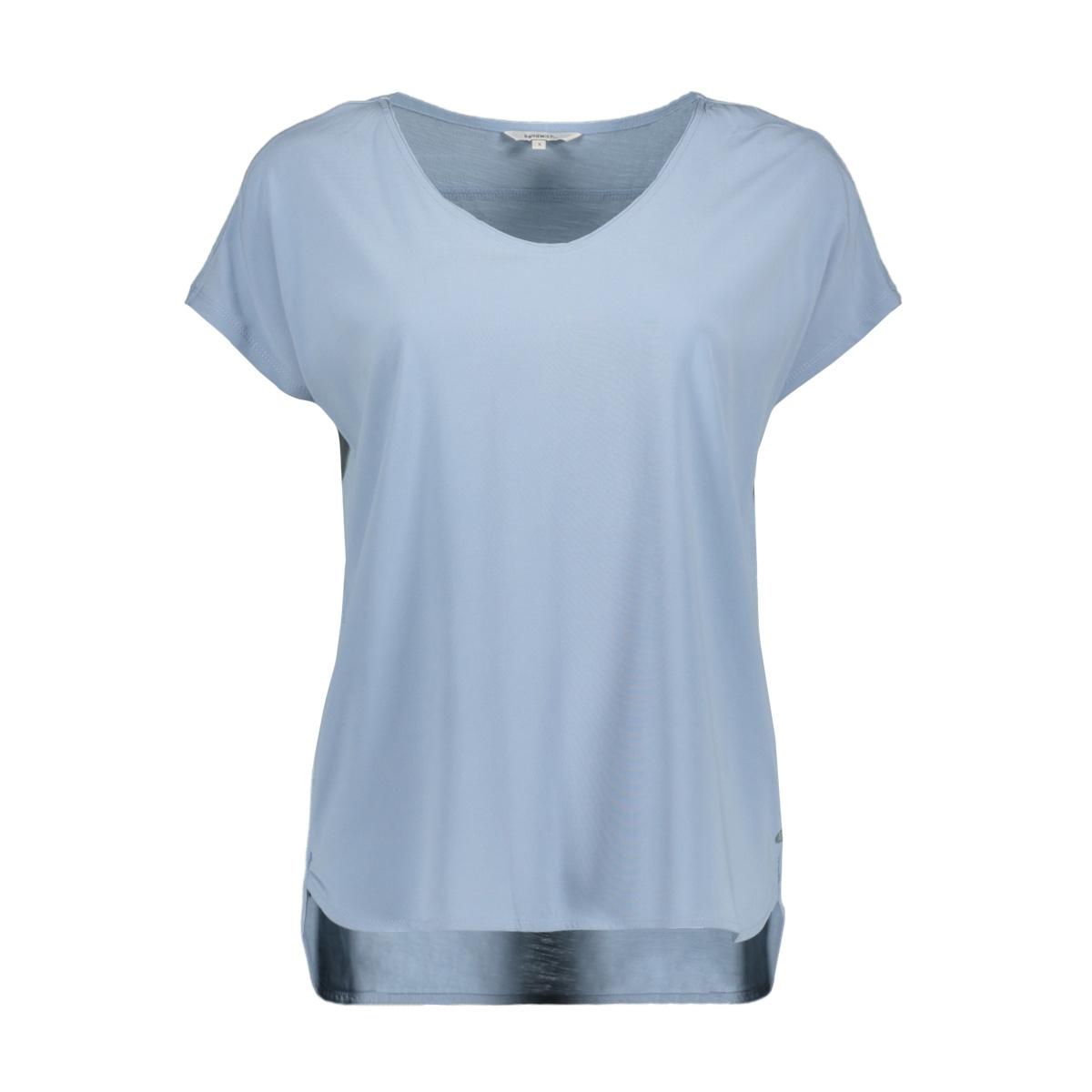 t shirt met aangeknipte mouw 21101847 sandwich t-shirt 41036