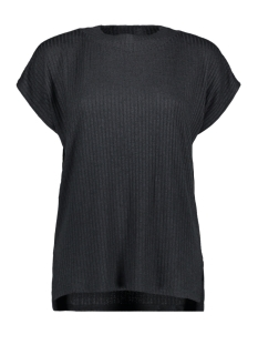 Esprit Collection T-shirt GEMELEERD T SHIRT MET RIB PATROON 040EO1K306 E001