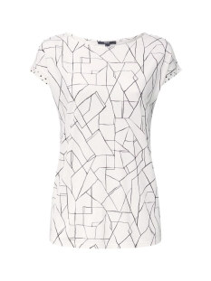Esprit Collection T-shirt SHIRT MET GRAFISCHE PRINT 040EO1K313 E110