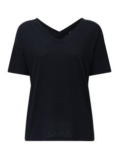 Esprit T-shirt SHIRT MET V HALS VOOR EN ACHTER 030EE1K303 E001