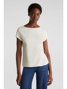 shirt met elastische zoom 030ee1k302 esprit t-shirt e288