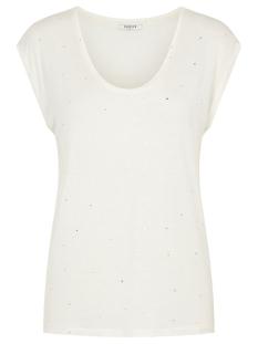Pieces T-shirt PCBILLY SS T-SHIRT AOP FOIL TRIANGL 17102891 CLOUD DANCER