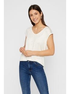 pcbilly ss t-shirt aop foil triangl 17102891 pieces t-shirt cloud dancer