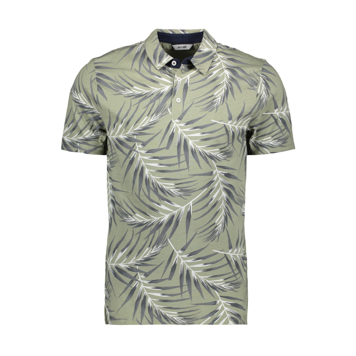 onsnewliam reg ss polo tee 22017592 only & sons polo seagrass