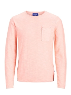 Jack & Jones Trui JORNIELS ORGANIC KNIT CREW NECK 12170772 Rossete/KNIT FIT