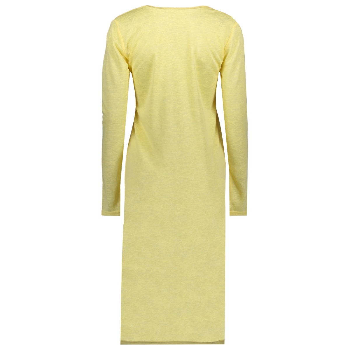 visumi l/s long cardigan/5 14058342 vila vest mellow yellow