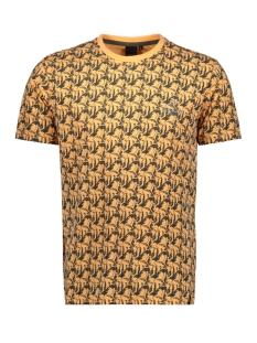 Twinlife T-shirt T SHIRT A O P  C NECK TW01502 152 ORANGE CHIFFON