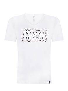 Zoso T-shirt NYC T SHIRT PRINTED 202 WHITE/ROSE