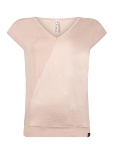 Zoso T-shirt SACHA COATED V NECK TOP 202 ROSE