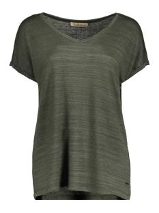 Smith & Soul T-shirt LUREX T SHIRT 0420 0434 704/OLIVE
