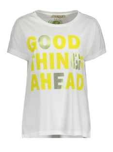 Smith & Soul T-shirt GOOD THINGS T SHIRT 0420 0442 100/WHITE