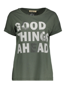 Smith & Soul T-shirt GOOD THINGS T SHIRT 0420 0442 704/OLIVE