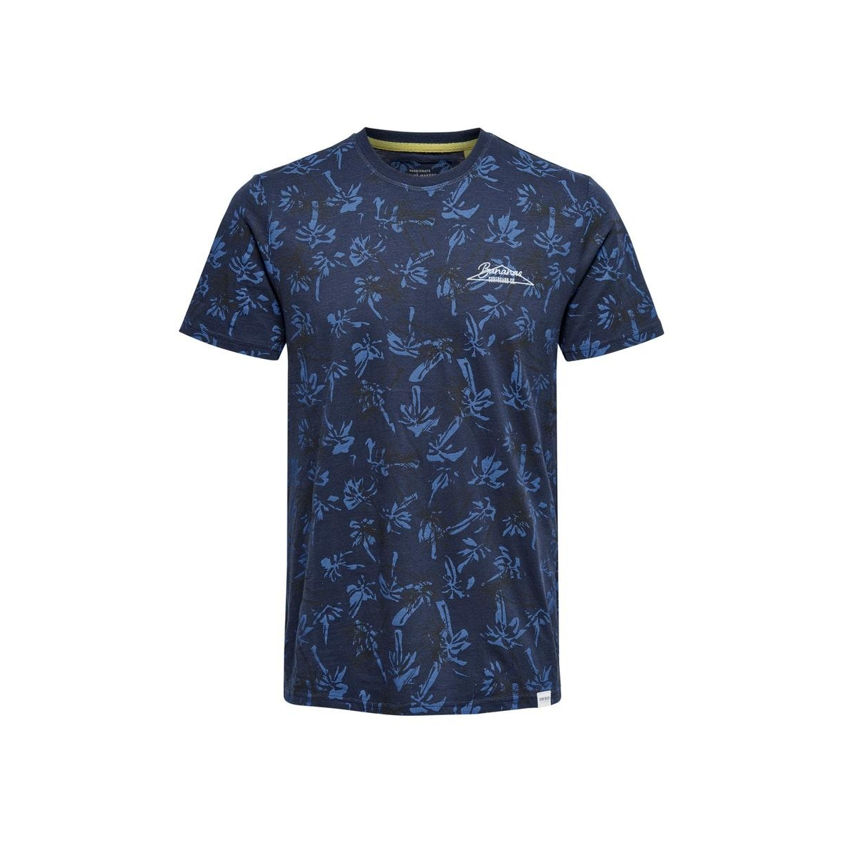 onseddy  life slim tee nf 6621 22016621 only & sons t-shirt dress blues