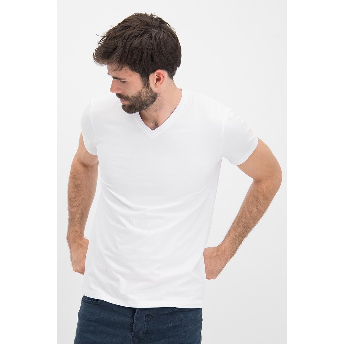 tee v me 0001 haze & finn t-shirt white