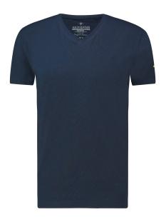 Haze & Finn T-shirt TEE V ME 0001 NAVY
