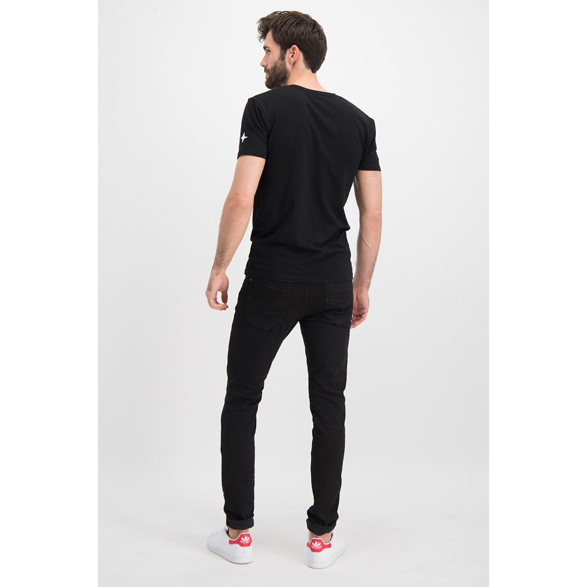 tee v me 0001 haze & finn t-shirt black
