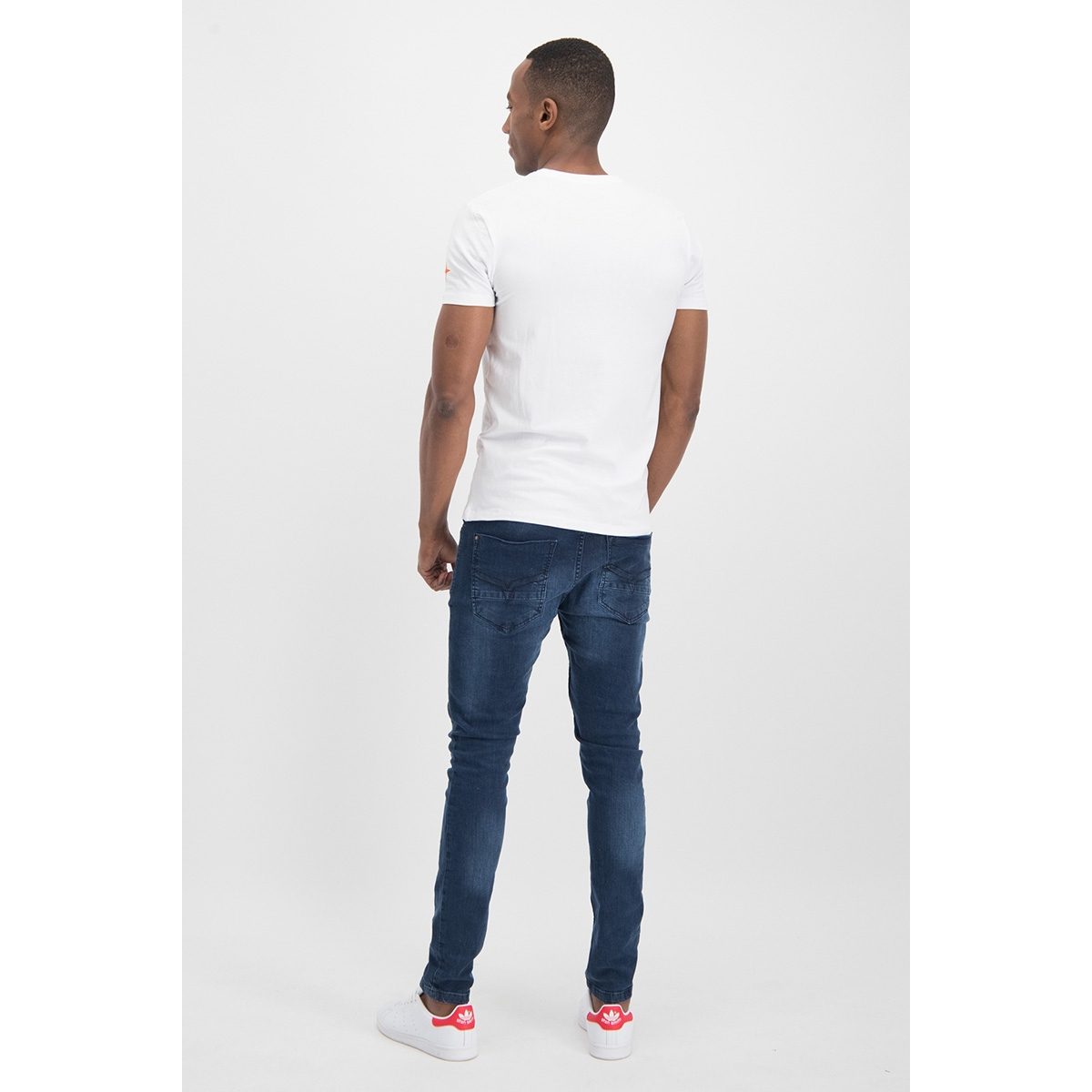 tee o me 0002 haze & finn t-shirt white