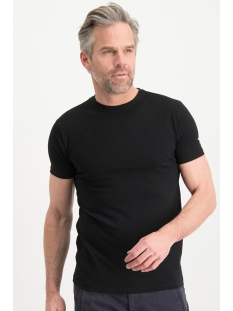 Haze & Finn T-shirt TEE O ME 0002 BLACK