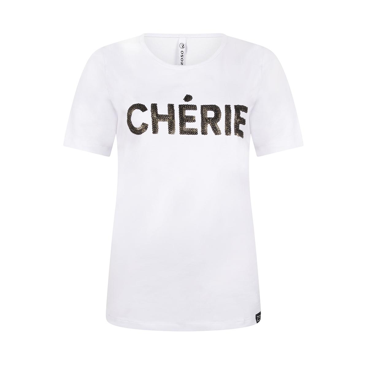 cherie t shirt 202 zoso t-shirt white