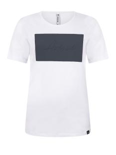 avenue t shirt 202 zoso t-shirt white/navy