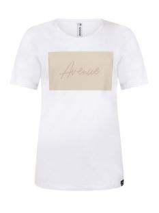 avenue t shirt 202 zoso t-shirt white/sand