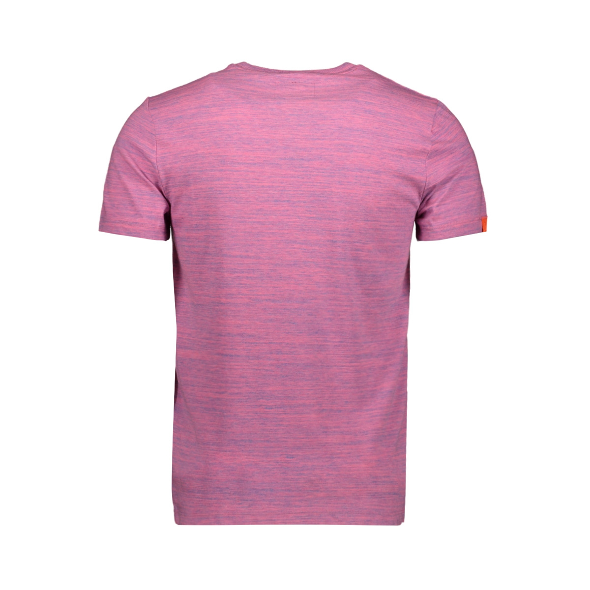 ol vintage emb crew m1010024a superdry t-shirt neon pink space dye