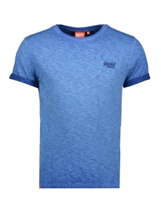 Superdry T-shirt OL LOW ROLLER TEE M1010025A TRUE BLUE