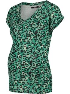 SuperMom Positie shirt TEE SS SEA LEOPPARD 20240017 P162 Sea Green