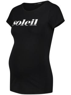 SuperMom Positie shirt TEE SS SOLEIL 20230019 P090 Black