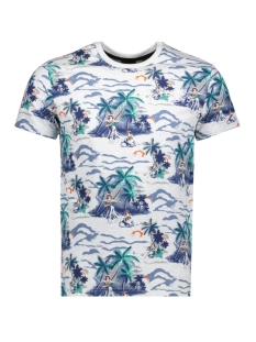 Superdry T-shirt AOP SUPPLY TEE M1010191A ICE MARL AOP