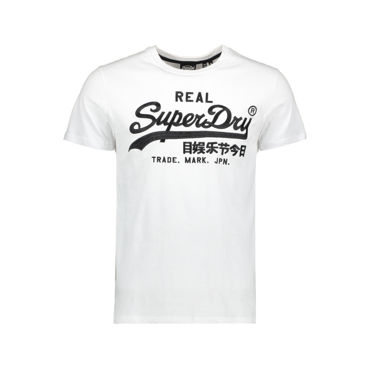 vl mono emb tee m1010303a superdry t-shirt optic