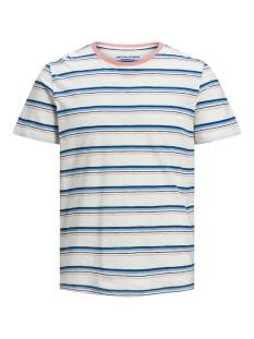 jorbobbi organic tee ss crew neck 12172001 jack & jones t-shirt cloud dancer/slim