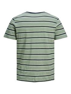jorbobbi organic tee ss crew neck 12172001 jack & jones t-shirt green milieu/slim