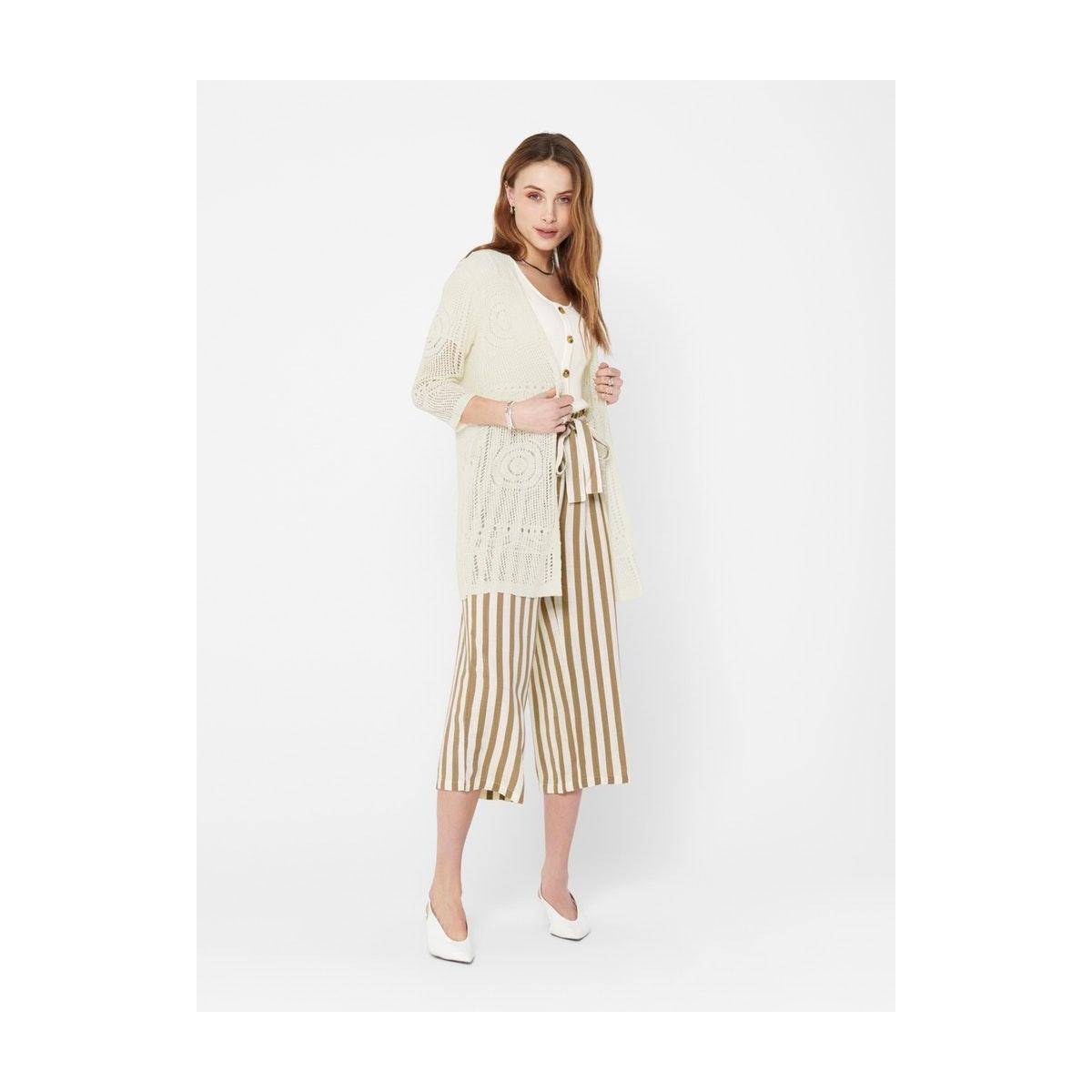 jdykofi 3/4 kimono knt denim 15200527 jacqueline de yong vest cloud dancer