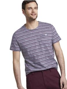 Tom Tailor T-shirt GESTREEPT T SHIRT MET BORSTZAK 1018850XX10 22837